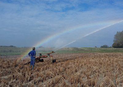 onze boerderij beregenen